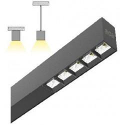 LED Linear 152cm AISHAC Combination With Rail Spots And linear light
