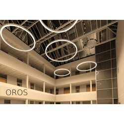 LED Linear Lamp With By ACA In Different Sizes Model OROS - Circular and S shape