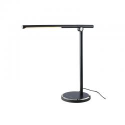 LED Φωτιστικό Γραφείου Μαύρο Μεταλλικό Με Touch Dimmer 7W CCT 3000K-6500K USB CHARGER - DEGAS - ACA DECOR