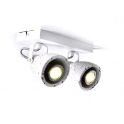 Ceiling - Wall Spot Light White Terazzo 2XGU10 DINO - ACA Decor