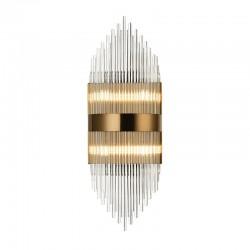 Επίτοιχο Φωτιστικό Πολύφωτο Με Κρύσταλλα 4x G9 DYNASTY - ACA Decor
