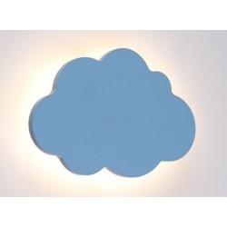 LED Παιδικό Φωτιστικό Επιτοίχιο Συννεφάκι Μπλε 9W 720lm HOLMA - Aca Decor