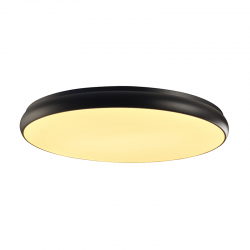 LED Πλαφονιέρα Μεταλλική Σε Λευκό Ή Μαύρο Χρώμα Ø80cm 70W Osram Chip KALLISTA - ACA Decor