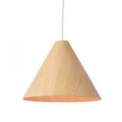 Κρεμαστό Φωτιστικό Από Φυσικό Ξύλο Ø33cm 1x E27 NAIROBI - ACA Decor