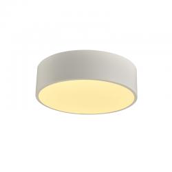 LED Πλαφονιέρα Μεταλλική Σε Λευκό Ή Μαύρο Χρώμα Ø35cm 32W Osram Chip OPTIMUS - ACA Decor