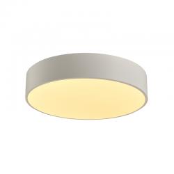 LED Πλαφονιέρα Μεταλλική Σε Λευκό Ή Μαύρο Χρώμα Ø50cm 50W Osram Chip OPTIMUS - ACA Decor