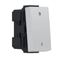 MODYS Bipolar Switch (0-1) IVORY 1 F. 2P 10AX 250VAC IP20 - Aca Elec