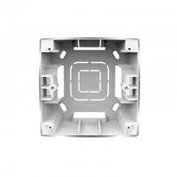 PRIME 1 GANG FRAME IP20 Aluminum Matte - Aca Elec