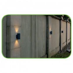 CREE High Light LED Απλίκα Εξωτερικού Χώρου Σε Σκούρο Γκρι Up-Down 6W IP54 ALBI - ACA