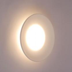 LED Φωτιστικό Εξωτερικού Χώρου Οροφής Ή Τοίχου Σε Λευκό Ματ Χρώμα Ø35cm 9W IP65 ALMA - ACA