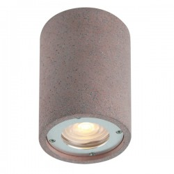 Ceiling Spot Light From Cement In Three Colors 1x GU10 IP65 ARETE - ACA