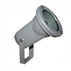 Garden Spot Gray Aluminum 1x GU10 50W IP65 - ACA