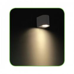 EDISON High Power LED Απλίκα Εξωτερικού Χώρου Σε Δύο Χρώματα 4W IP54 DASA-S ACA