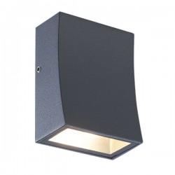 CREE High Light LED Απλίκα Εξωτερικού Χώρου Σε Σκούρο Γκρι 3W IP65 FER - ACA