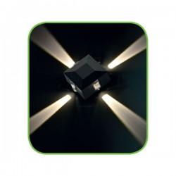 CREE High Power LED Απλίκα Εξωτερικού Χώρου Τετράγωνη Με 4 Δέσμες Φωτός - 5W IP54 MENFI- ACA