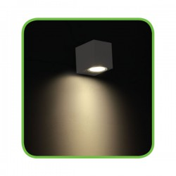 EDISON High Power LED Απλίκα Εξωτερικού Χώρου Σε Δύο Χρώματα 4W IP54 VITA-S ACA