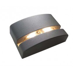 LED Aluminum Outdoor Wall Light In Two Colors 5W IP65 VITRINE - ACA
