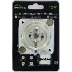 LED SMD MAGNET MODULE Πλακέτα 230V - 12W 160° - Diolamp