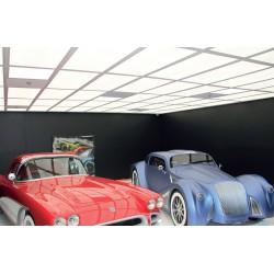 Φωτιστικό Οροφής Slim Panel Λευκό Παραλληλόγραμμο 60x30 LED SMD 30W 120° OTIS Aca