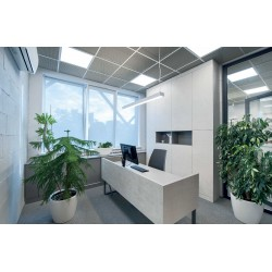 Slim Panel White Square 60x60 LED SMD 40W 120° PILO Aca