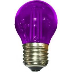 LED Λάμπα Filament E27 G45 4W 360° 390lm Σε Διάφορα Χρώματα - Diolamp