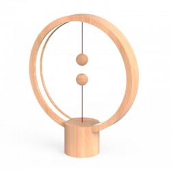 Heng Balance Wooden Lamp Round With Magnet Switch - Allocacoc