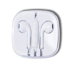 GreenMouse Ακουστικά με 3,5mm Connector Σε Λευκό Χρώμα
