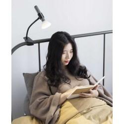 Επαναφορτιζόμενος Φακός LED Με Βάση Τοίχου (Μαύρος) NightLight Recharge FlashLight Με Θερμό Φωτισμό - Allocacoc
