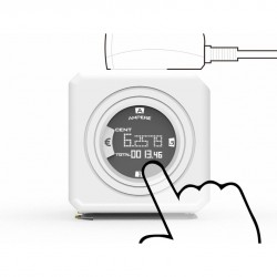 PowerCube - Original Monitor Πολύπριζο 4 Θέσεων - Allocacoc