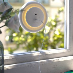 Ηλιακό Φωτάκι Νυκτός Led Που Λειτουργεί Με Ηλιακή Ακτινοβολία LightDisc Solar & Powerbank - Allocacoc