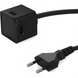 Allocacoc® PowerCube USBcube Extended 4 USB ports - Black Or White