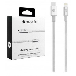 Mophie Charging Cable USB-C / Lightning Charging And Synchronization Cable 1 Meter In Black or White