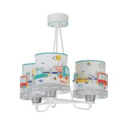 Baby Travel Παιδικό Φωτιστικό Οροφής Τρίφωτο 3xE27 Ango