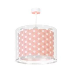 Dots Pink Παιδικό Φωτιστικό Οροφής 1xE27 Ango