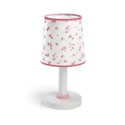 Dream Flowers Pink Παιδικό Φωτιστικό Κομοδίνου 1xE14 Ango