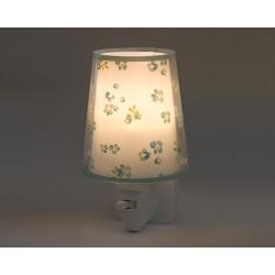 Dream Flowers Green Φωτιστικό Νύκτας Πρίζας LED 1xE14 - Ango