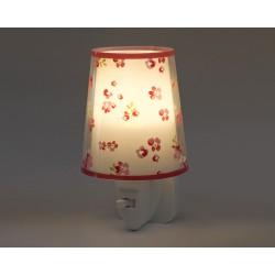 Dream Flowers Pink Φωτιστικό Νύκτας Πρίζας LED 1xE14 - Ango