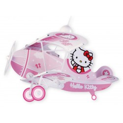 Παιδικό Φωτιστικό Οροφής Hello Kitty Αεροπλάνο - 1x E27 Ango