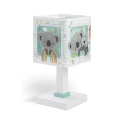 Koala Green Παιδικό Φωτιστικό Κομοδίνου 1xE14 Ango