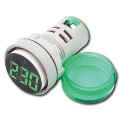 Digital Ac Voltmeter VM-20-500V AC GREEN - Amarad
