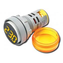 Digital Ac Voltmeter VM-20-500V AC ORANGE - Amarad