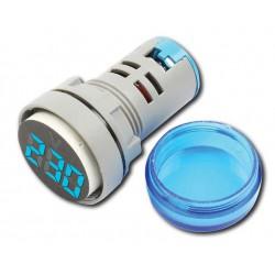 Digital Ac Voltmeter VM-20-500V AC BLUE - Amarad
