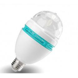 Περιστρεφόμενη  LED RGB Λάμπα Disco 3W 360o - Amarad