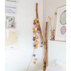 Decorative Festoon Beelights with Lamps in Precious Lollipop Adore