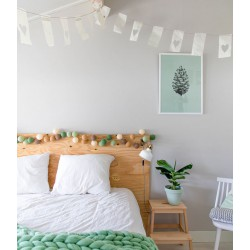 Decorative Festoon Beelights with Lamps in Precious Little Tree Colors