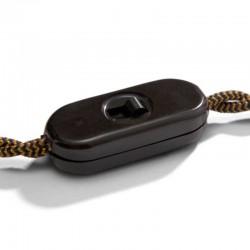 White Or Black Monopole Switch by Achille Castiglioni - Creative Cables