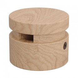 Wooden Accessory Round DIY Intermediate for Garland Cable - Filé Series - Creative Cables