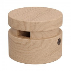 Wooden Accessory Round DIY Terminal for Garland Cable - Filé Series - Creative Cables