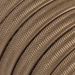 Πλακέ Υφασμάτινο Καλώδιο για Γιρλάντα Creative Cables - Σαμπανιζέ CM27