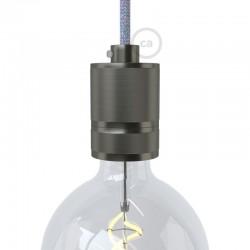 Aluminum Industrial Lampholder E27 Grey - Creative Cables